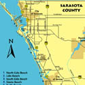 Sarasota Beaches Map