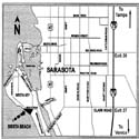 Sarasota Florida Interstate (I -75) Map